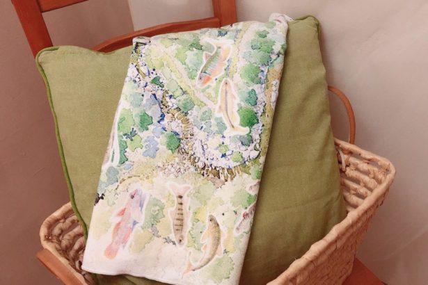 【公民寫手】《溪望》彩圖譜運動毛巾:一覽台灣河流的美麗與希望。