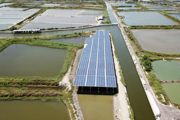 先前缺乏把關機制所設置的漁電共生案場,完全沒有養殖事實(攝影/和風)