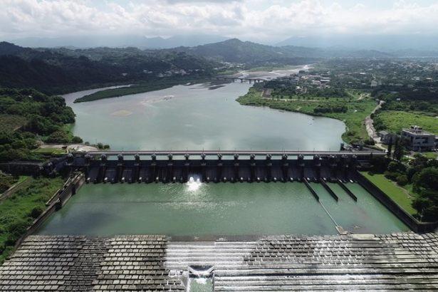 豐原淨水場的水源來自石岡壩,而石岡壩曾在921當中遭受重創,民間要求拆壩聲音不斷。(圖片來源/水利署中區水資源局)