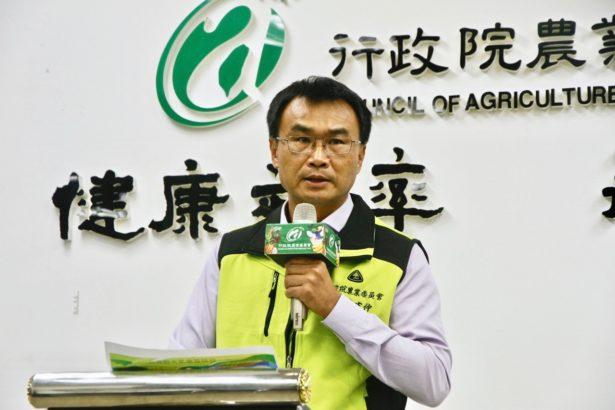 農委會主委陳吉仲說明嘉南明年停灌措施(攝影/林怡均)