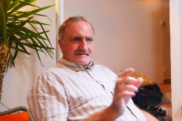 德喬吉曾任列切省能源局長,也是環保運動者,從行政、立法與公民運動角度分享綠能經驗(攝影/鄭傑憶)