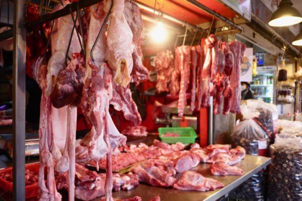豬價真的有漲嗎?記者遍訪攤商餐廳均表示漲幅合理(攝影/楊語芸)