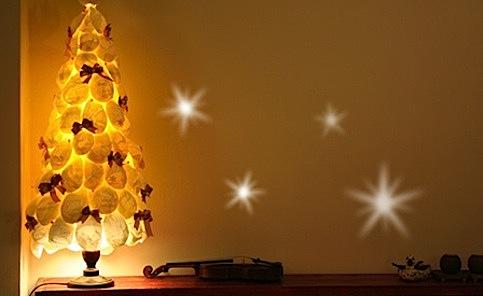 自己動手作:3 包衛生紙的聖誕樹