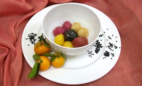 DIY創意冬至湯圓,高纖、蔬果多一點!