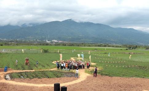 中央山脈前,族群好麥音樂共響