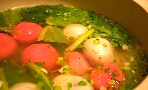 湯湯水水中美麗的湯圓