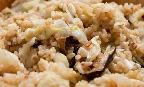媽!幫我做一鍋天均米高麗菜飯