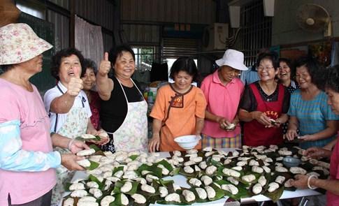 台南鄉野手札:菁寮阿嬤芋粿翹的好滋味