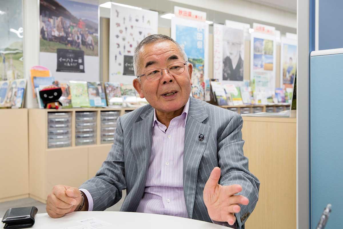 代表理事 高橋公。攝影 / 近藤悟