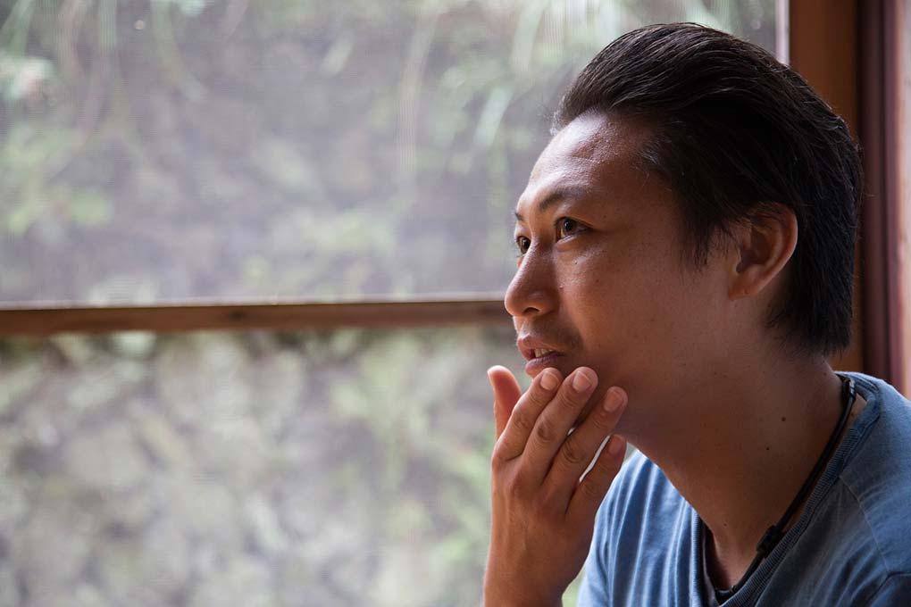 田川壽一。攝影 / 近藤悟