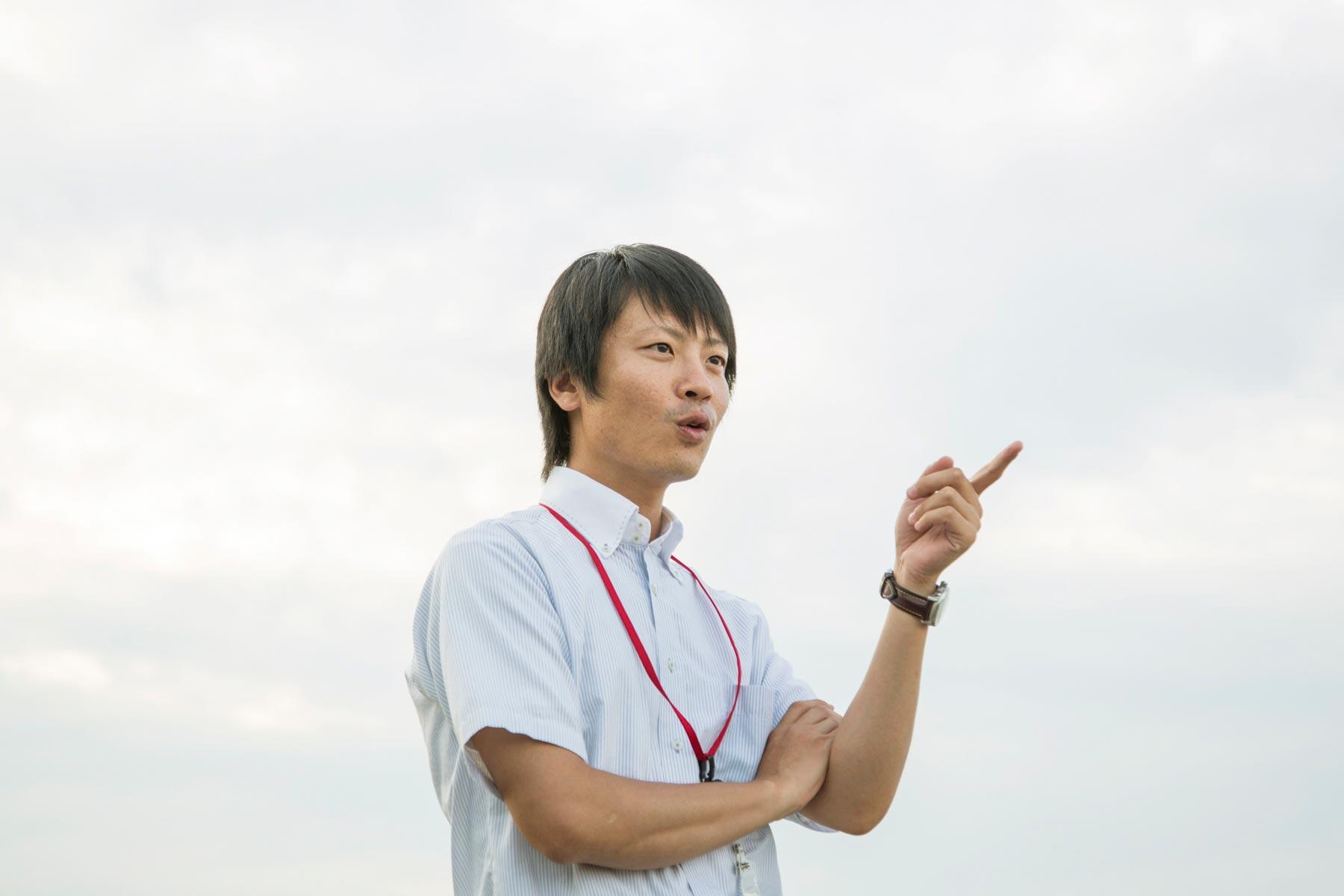 松井隆明。攝影 / 近藤悟