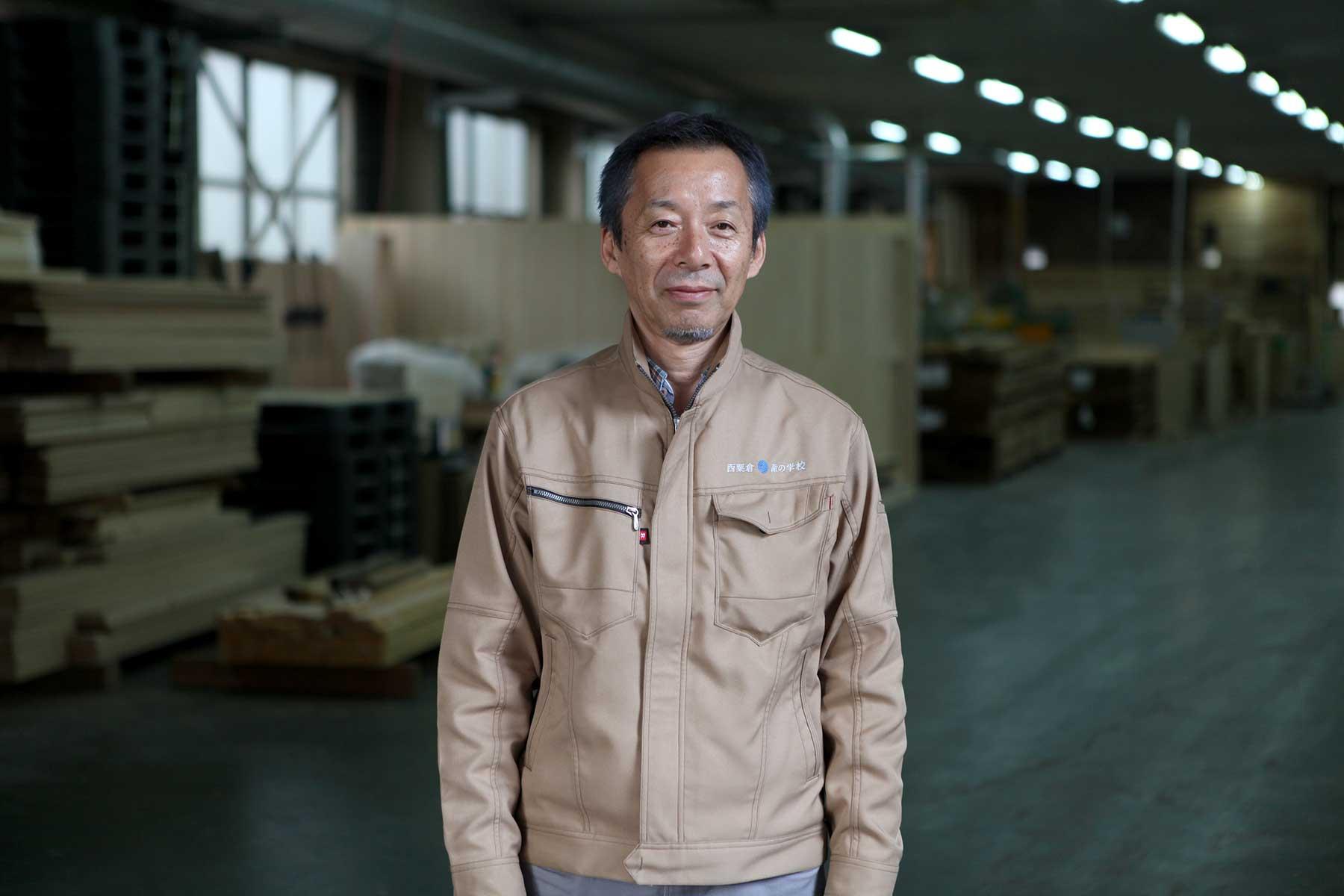 「森林學校」取締役、所長、業務部長 門倉忍。攝影/Alittle