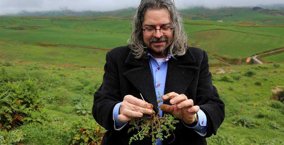專長民族植物學的義大利美食科學大學院長Andrea Pieroni(攝影/毛奇)