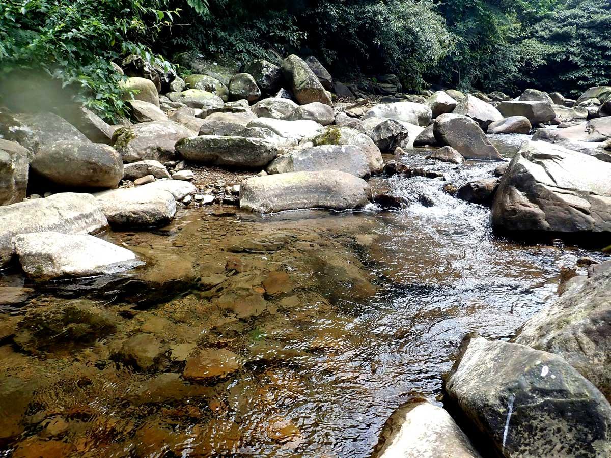 本文施工區平日的溪景。攝影/李政霖