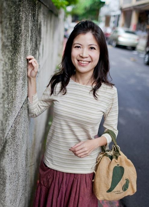 女款 條紋7分袖