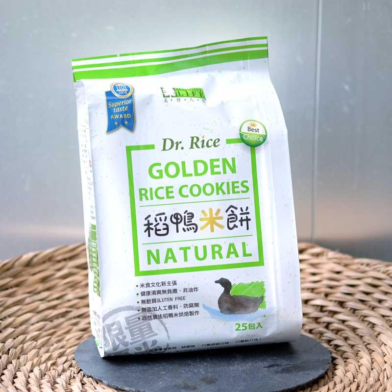稻鴨米餅25入包裝