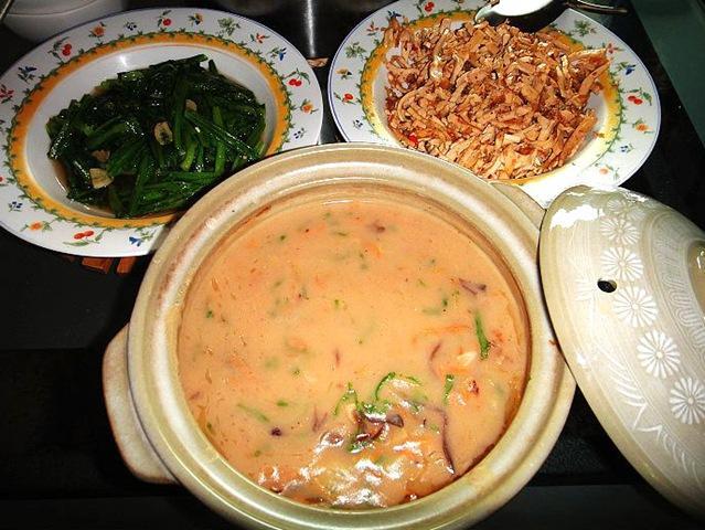 香濃可口的糙米麩濃湯