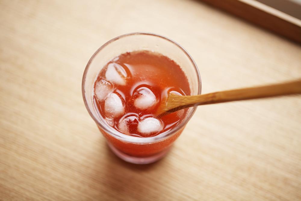 胭脂梅有獨特的香氣,是接近桃子的淡淡清香,尾韻悠長