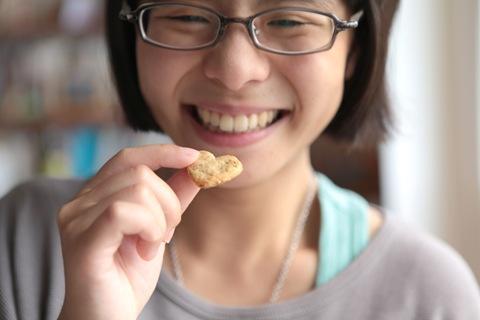 吃餅乾是最快樂的時光