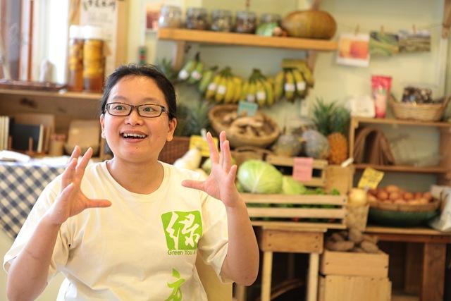 果醬的創作者新燕,對食物有無比的熱情。