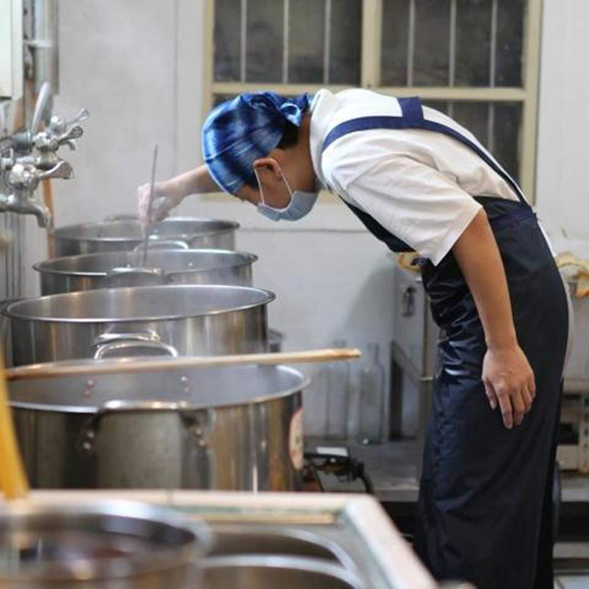 認真熬煮的金枝,任何細節都不會放過,薑湯的品質絕對掛保證。