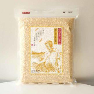 桃園三號2kg裝糙米