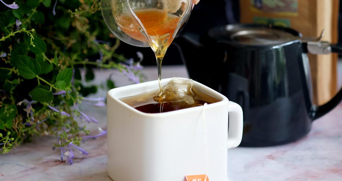 加入蜂蜜更加潤喉