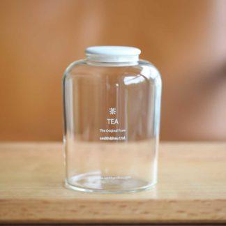 玻璃茶罐陶瓷蓋