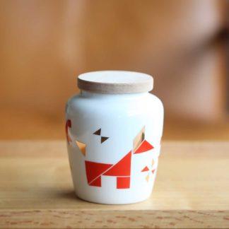 富狗吉來茶罐