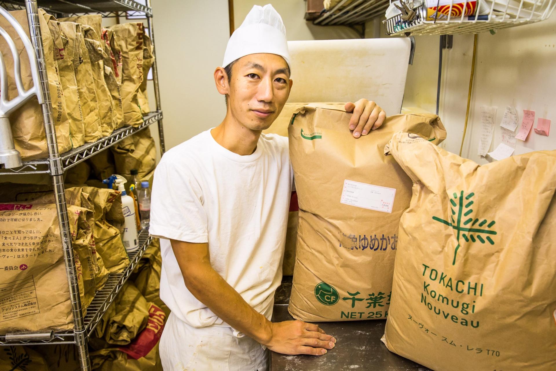 03 片根烘培:沒想到日本有這樣的麵粉